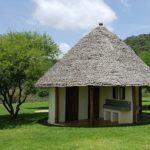 Clean and modern bathrooms Migombani Camp