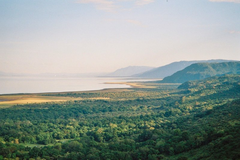 Endless views of Lake Manyara and the Great Rift Valley