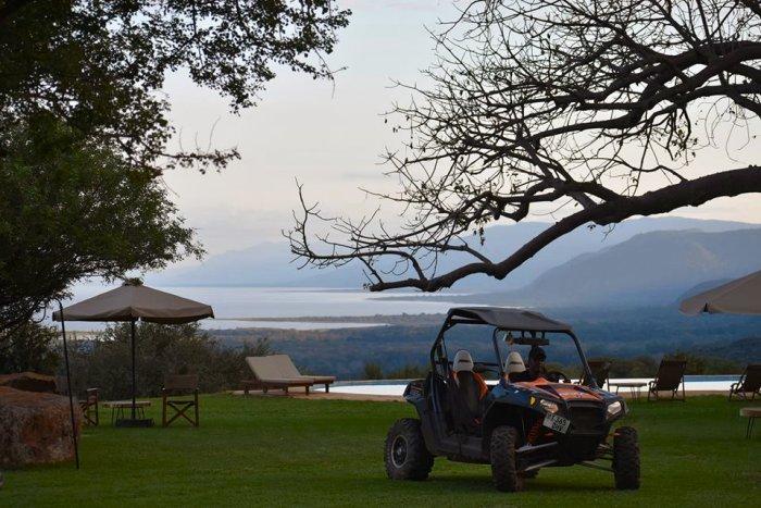 ATV ride along the Rift Valley and Lake Manyara